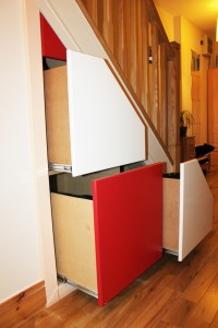 Storage Master Under Stairs And Attic Storage Solutions